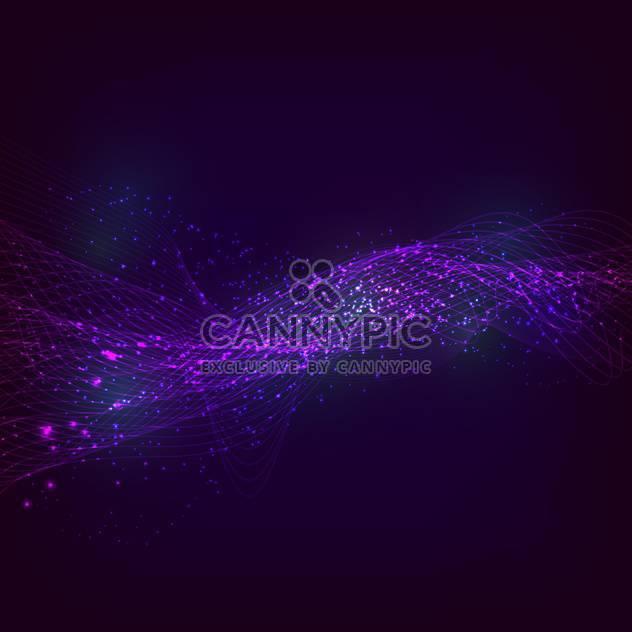 Vektor-Illustration von abstrakten lila farbigem Hintergrund mit magische Linien und Sternen - Free vector #126623