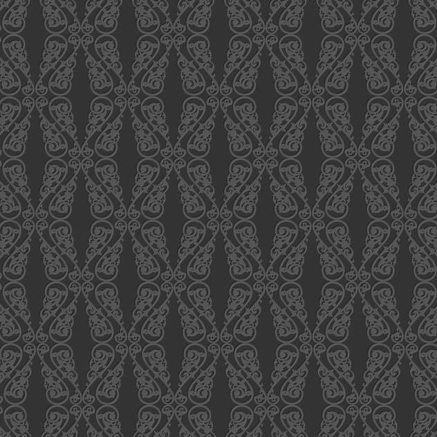 Vector vintage art background with seamless floral pattern - vector gratuit(e) #126803