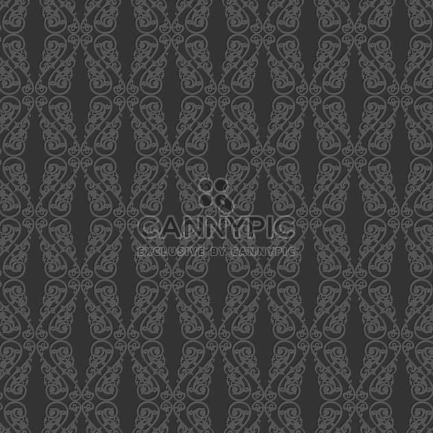 Vector vintage art background with seamless floral pattern - Free vector #126803