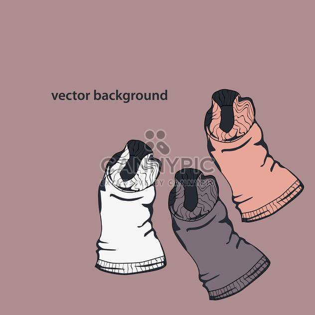 Vektor-Illustration der Kinder t-shirts - Free vector #128163