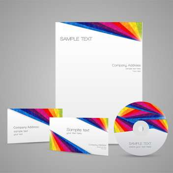 Business templates vector icons and space for text - vector #128283 gratis