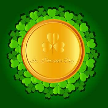 St Patricks day vector background - Free vector #130063