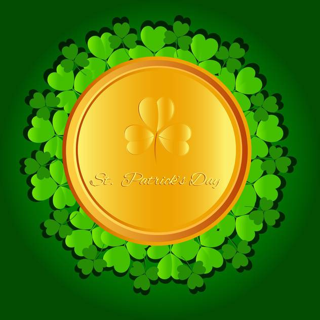 St Patricks day vector background - vector #130063 gratis