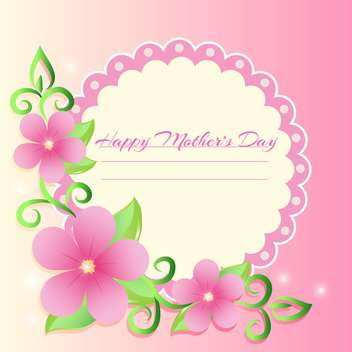 Happy mother day background - vector gratuit #130573