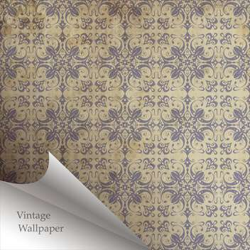 Vector wallpaper design with folded corner - бесплатный vector #130863