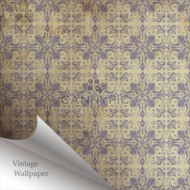 Vector wallpaper design with folded corner - Free vector #130863