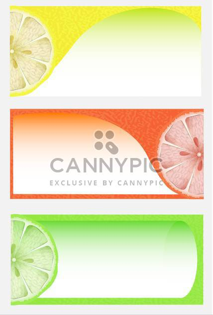 Citrus background vector illustration - Free vector #130993