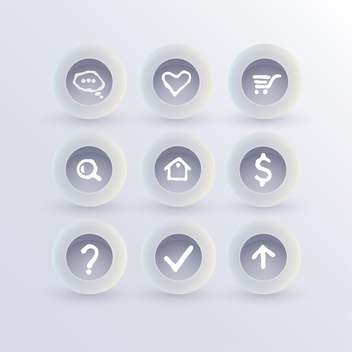 Set of communication icons,vector illustration - vector #132403 gratis