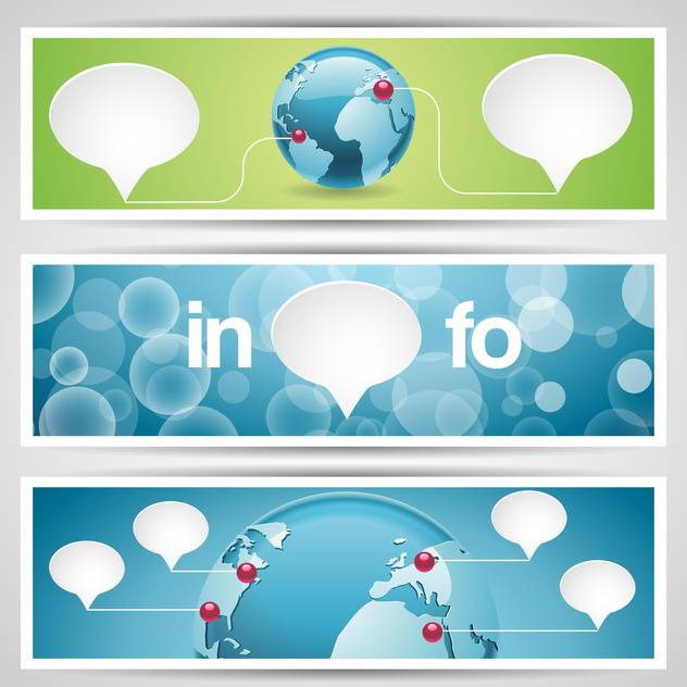 World globe, network icons,vector illustration - vector #132433 gratis
