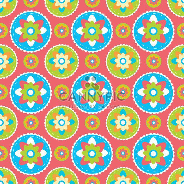 vector summer floral background - Free vector #132483