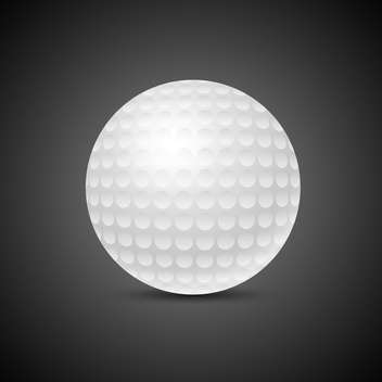 golf game ball vector illustration - vector #132783 gratis