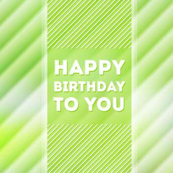 happy birthday poster background - Free vector #134173