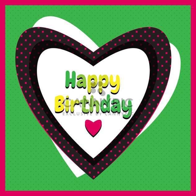 Happy Birthday Urlaub Hintergrund - Kostenloses vector #134423