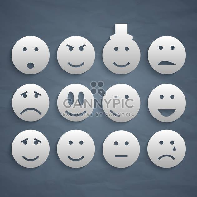 web smiles variety set background - Free vector #134433