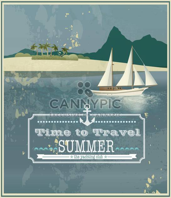 time to travel vintage background - Free vector #134553