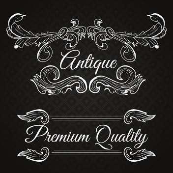 retro frame premium quality - бесплатный vector #134563