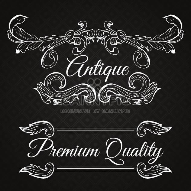 retro frame premium quality - Free vector #134563