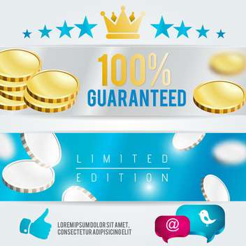 limited edition vector template - vector gratuit #134573