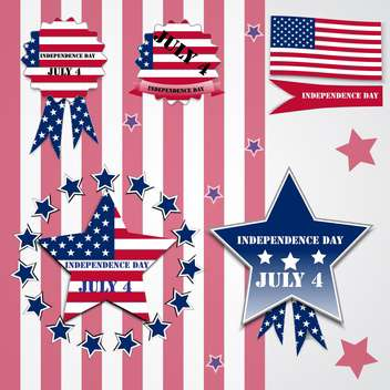 american independence day poster - Free vector #134633