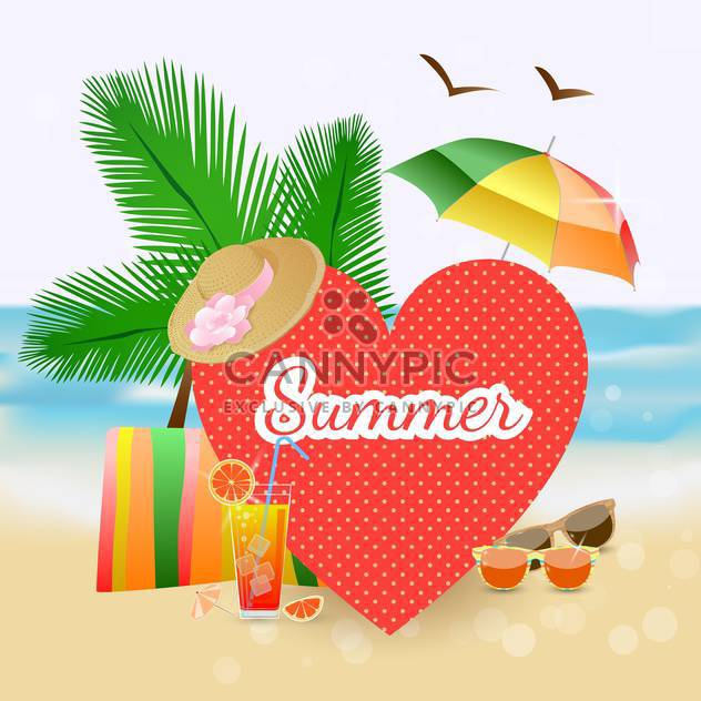 rest and travel colorful frame - Free vector #134733