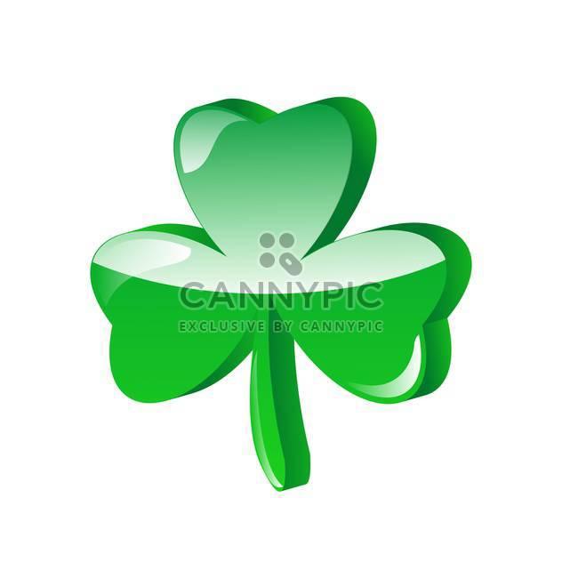 three leaf clover vector illustration - Free vector #134793