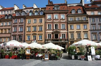 Houses in Warsaw - image gratuit #136623