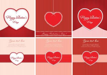 Free Vector Valentine's Day Backgrounds - vector #138703 gratis
