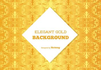 Gold Background Illustration - Free vector #138833