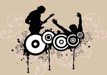 Rock Concert - Free vector #138883