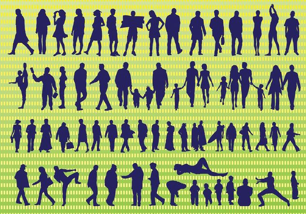 Active Vector Silhouettes - Free vector #138903