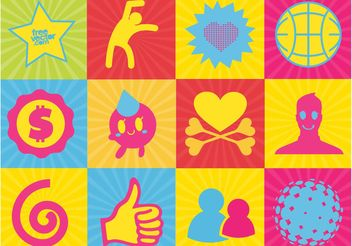 Cool Vector Design Elements - Free vector #138933