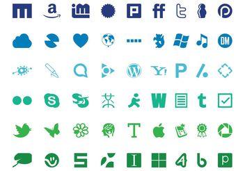 Technology Logo Set - Kostenloses vector #139953