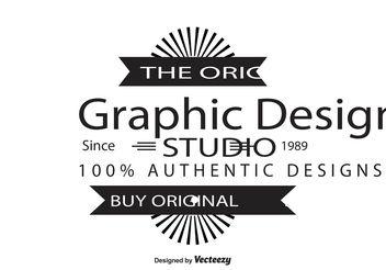 Editable Vintage Insignia - Free vector #139973