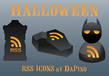 Halloween Web Vectors - Kostenloses vector #140153