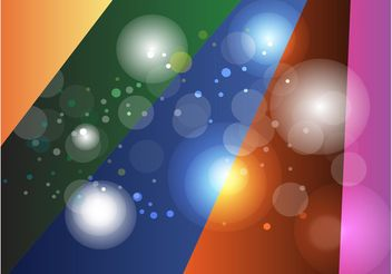 Colored Rays Circles Background - vector gratuit #140493