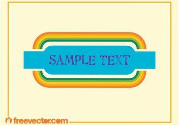 Colorful Banner Vector - Kostenloses vector #140663