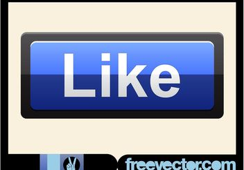 Like Button - vector gratuit #140683