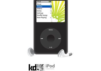 iPod - Free vector #141503