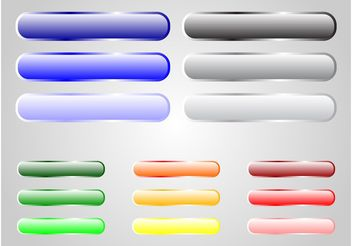 Colorful Buttons - vector gratuit #141693