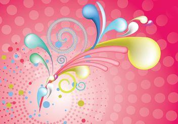 3D Swirls - vector #141733 gratis