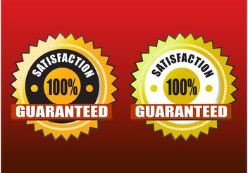 Satisfaction Guaranteed - Free vector #141773