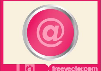Email Button - vector #142223 gratis