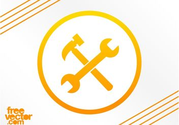 Repair Icon Vector - бесплатный vector #142353