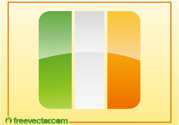 Irish Flag Vector - vector #142633 gratis