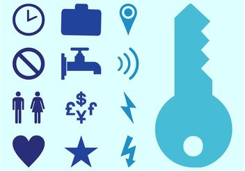 Basic Icons Set - Free vector #142643