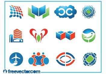 Logo Templates Set - Kostenloses vector #142803