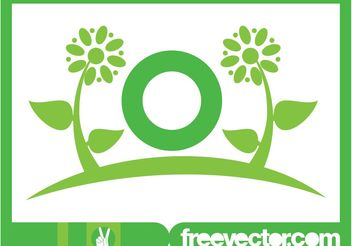 Flowers Logo Template - Free vector #142813