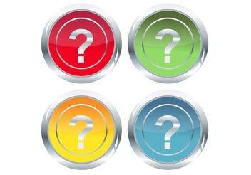 Question Vector Icons - бесплатный vector #142853