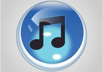 iTunes Icon - Free vector #142863