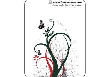 Nature Ornaments - vector gratuit #143013